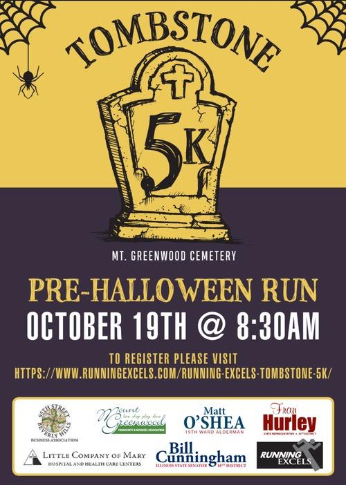 Poster for 2019 Tombstone 5K on Oct. 19,