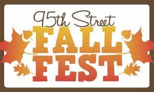 95th Street Fall Fest sign